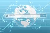 Menu globální vyhledávání na internetu, hospodářské
