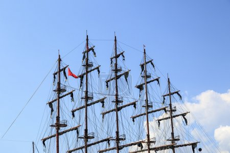 Mast of Pirate Ship