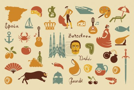 Traditional symbols of Spain