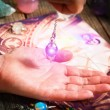 Palm reading, characterization and foretelling the...