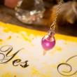 Pendulum, tool for dowsing over yes and no choosin...