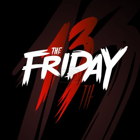 Friday the 13th lettering