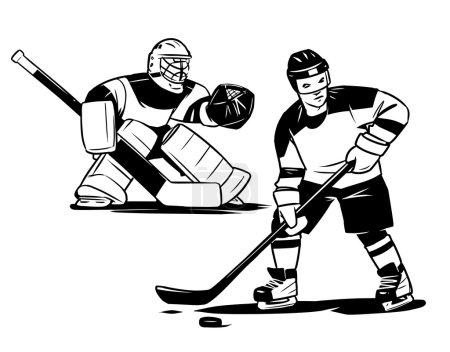 hockey player and goalkeeper