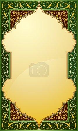 Middle eastern design background