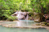 Erawan Waterfalls in Erawan National Park (Thailand)