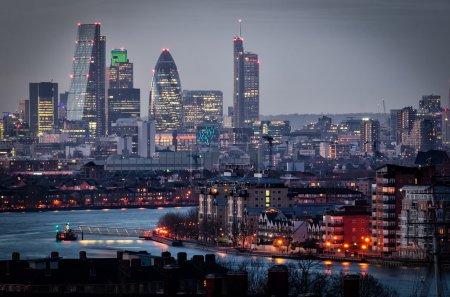 Photo pour Ville de london, uk - image libre de droit