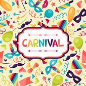 ünnep ünnepi háttér ikonok karnevál és objektumok