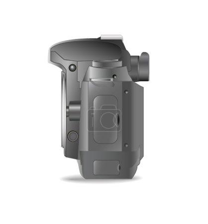 Professional SLR camera, photo camera