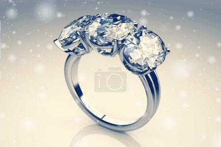 Beautiful jewelry ring