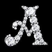 A stunning beautiful A set in diamonds