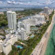 Fort Lauderdale aerial view from helicopter...