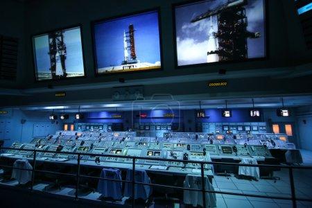 Apollo 1960s mission control center