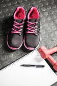 Věci na trénink v tělocvičně