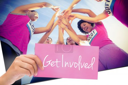 Get involved against five cheering women