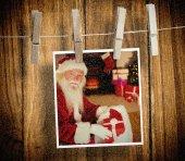 Závěsné vánoční přání