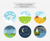 Little locations collection 1