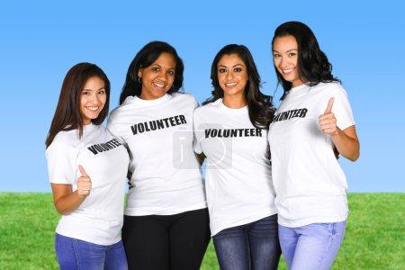 Group of Women Volunteers