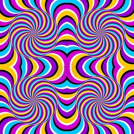 Illustration pour Illusion optique - image libre de droit