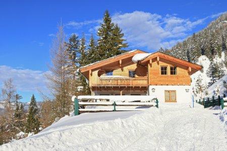 The Adlerhorst mountain hut in Tyrol, Austria