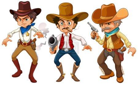Cowboys Illustration