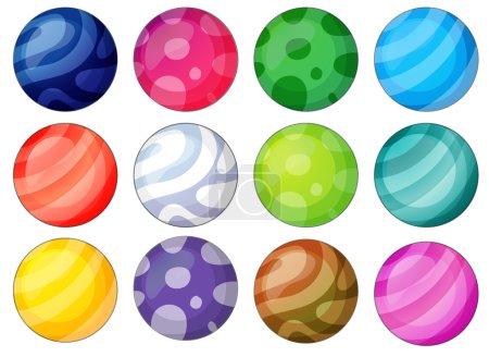Diversité de boule