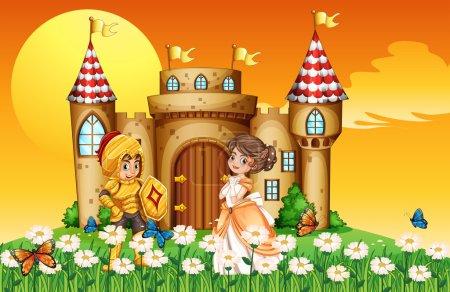 A princess and a knight