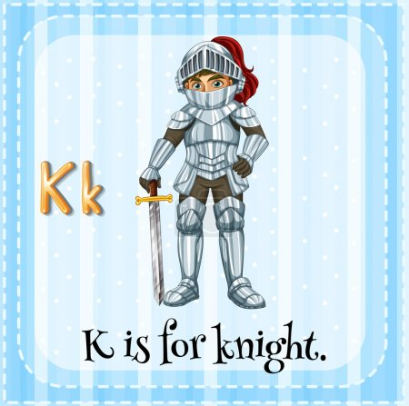 A letter K for knight