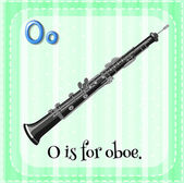 A letter O