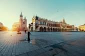 """Постер, картина, фотообои """"Рыночная площадь в Кракове"""""""