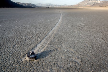 Sailing stone at Racetrack Playa.