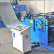 Industrial machine for cutting steel sheets...