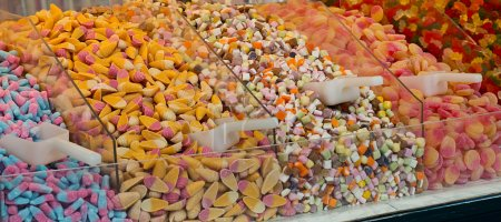 Pick and mix candies