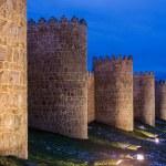 Avila's 11th century city walls are the most impor...