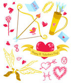 Valentines Day love icons