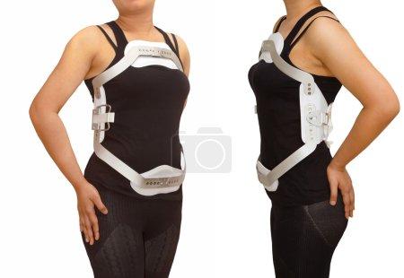 Lumbar jewet braces ,hyperextension brace for back truma or frac
