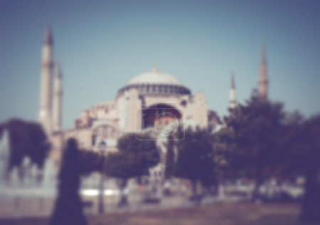 Blurred Sultanahmet Square