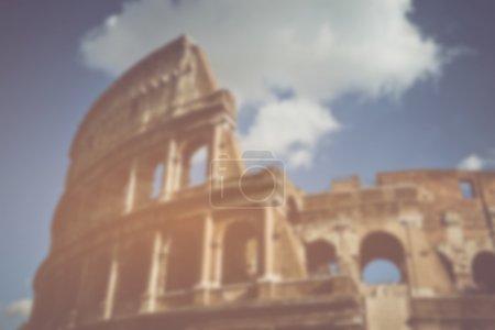 Coliseum in Rome Italy