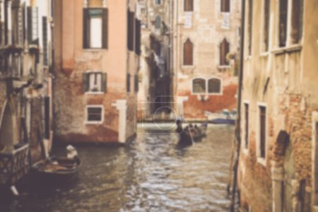 Blurred Venice Italy Canal