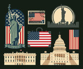 set of symbols of the United States of America