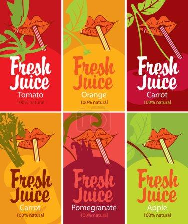 Fresh juice set