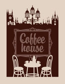 menu for coffee house