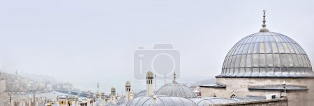 Istanbul, Turkey - November 23, 2014: Istanbul landscape. The view from the heights