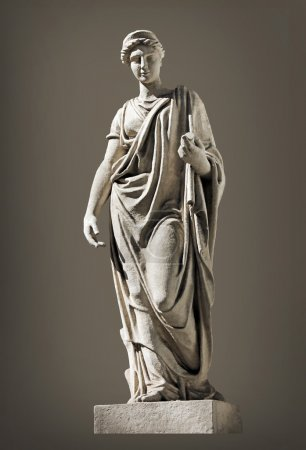 Ancient Hera Sculpture