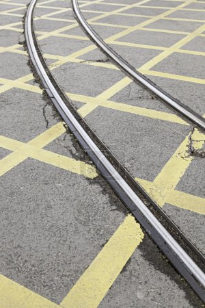 Roads tram traffic signals