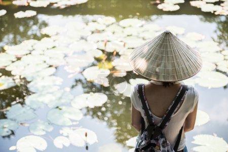 Image of a Female Tourist