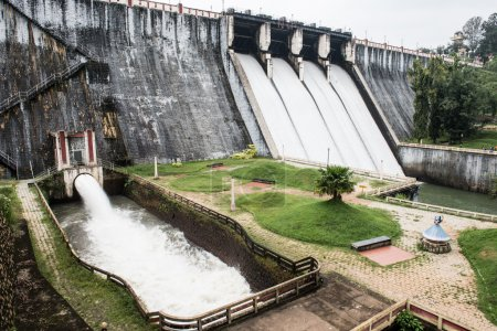 Water Gates in Neyyar Dam