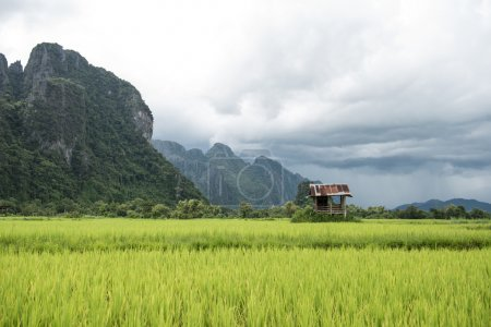 Vang Vieng on a Sunny Morning