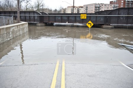 Flooded Roadway