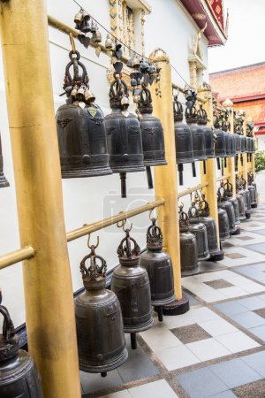 Religious Bells in a Sacred Temple