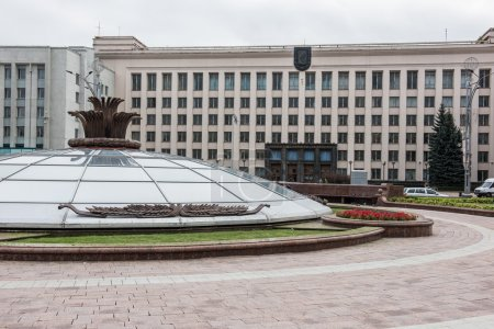 Beautiful sculptures on Independence Square